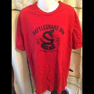 NWOT-Rattlesnake Inn T-Shirt-XL